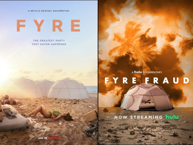 Netflix & Hulu Fyre Fest Docs Are Throwing Shade At Each