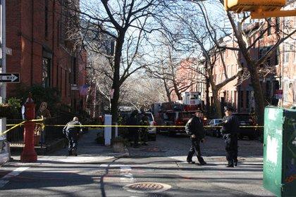 Joralemon, at the corner of Hicks in Brooklyn Heights.