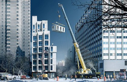 A rendering of the micro-units from 2013