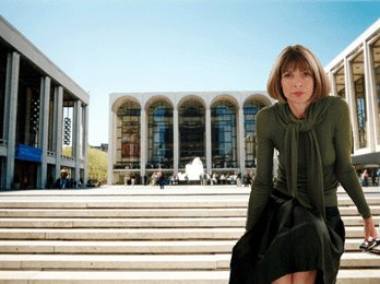 Original photo of Lincoln Center by Wally G.