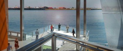 Curbed reports the project will include 5,000 square feet of esplanade along the waterfront.