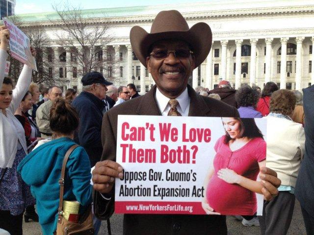 Ruben Diaz Sr. is also an outspoken advocate against pro-choice legislation.