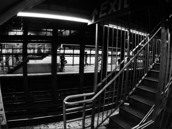 The 72nd Street Station platform