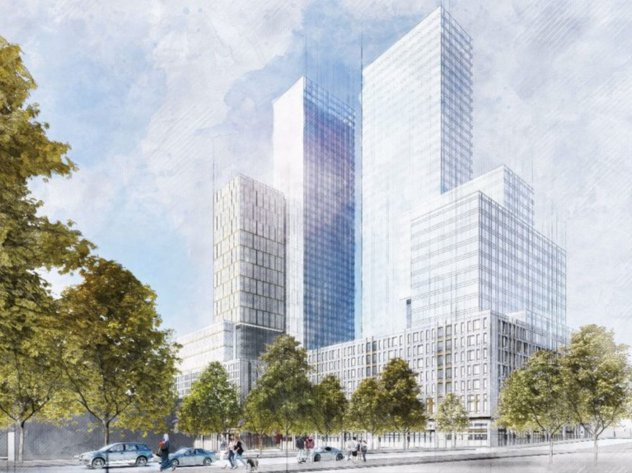 A rendering of 960 Franklin Avenue