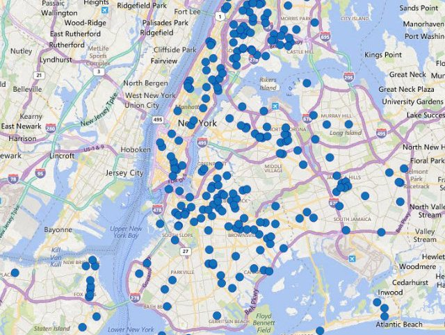nypd brooklyn precinct map Interactive Nypd Map Lets You View Latest Crime Stats Block By nypd brooklyn precinct map