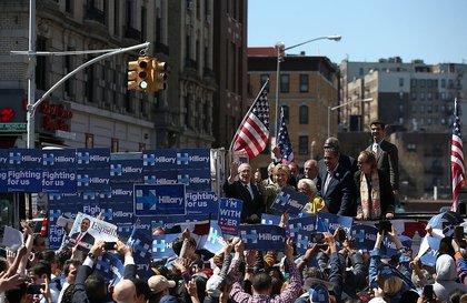 Hillary in Washington Heights<br>