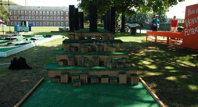 Minigolf Course - Figment New York | Mini golf, Island art
