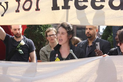 Jen Waller recounts her arrest.