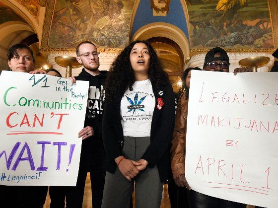 Marijuana legalization, which was a key component of Governor Andrew Cuomo's budget for this year, is now expected to be hashed out after the April 1 budget deadline, but before the legislature adjourns in late June.