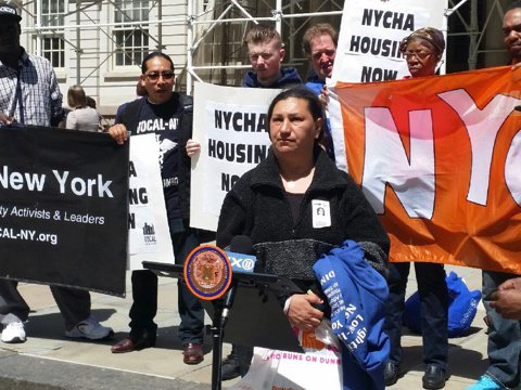 Advocates Demand More Public Housing Apartments Be Given To