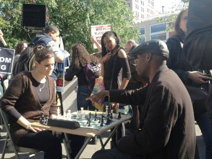 """""""Business as usual for some in Union Square,"""" says James Thilman"""