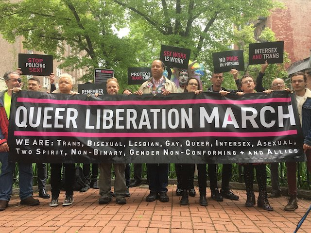The Queer Liberation March is set to take place on the same day as the NYC Pride Parade.