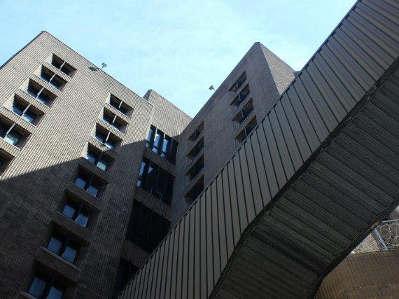 The Metropolitan Correctional Center in Lower Manhattan