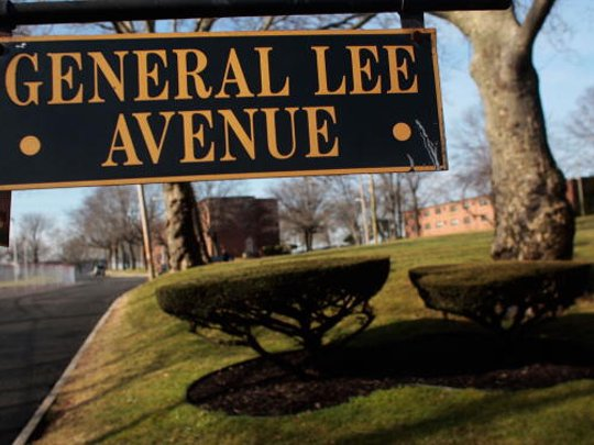 General Lee Avenue at Fort Hamilton, New York City's only active-duty military base.