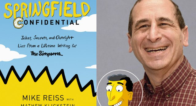 A Conversation With Veteran 'Simpsons' Writer Mike Reiss