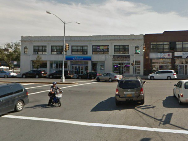 The intersection where the crash took place.