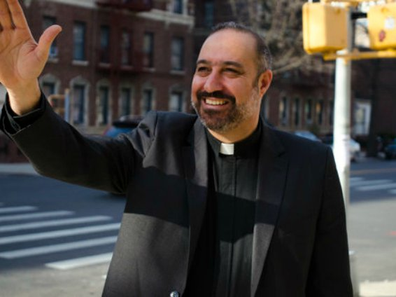Reverend Kahder El-Yateem, who's running for City Council in southwest Brooklyn with a DSA endorsement.