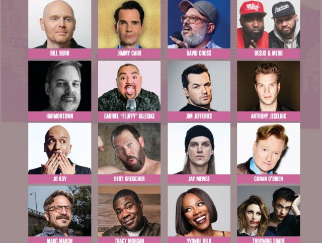 Ny Comedy Festival Returns In November With Tracy Morgan Conan O Brien Almost No Women Gothamist