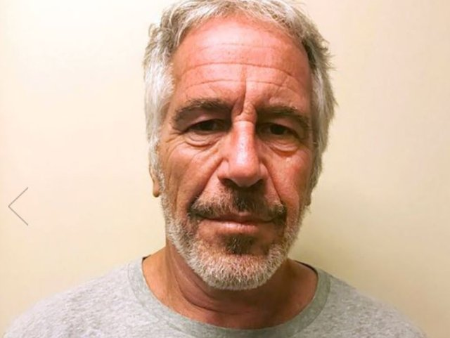 A photograph of Jeffrey Epstein from the New York Sex Offender Registry.
