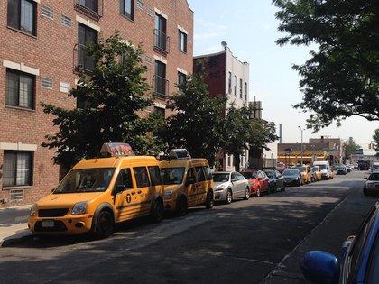 Huron between McGuinness and Manhattan (8/17)