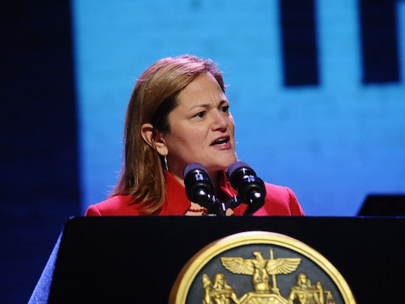 Speaker of the City Council Melissa Mark-Viverito.