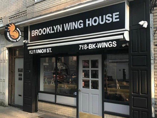 The shooting occurred outside the recently opened Brooklyn Wing House