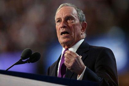 Former NYC mayor Michael Bloomberg (Getty)