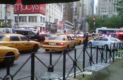Herald Square checkpoint