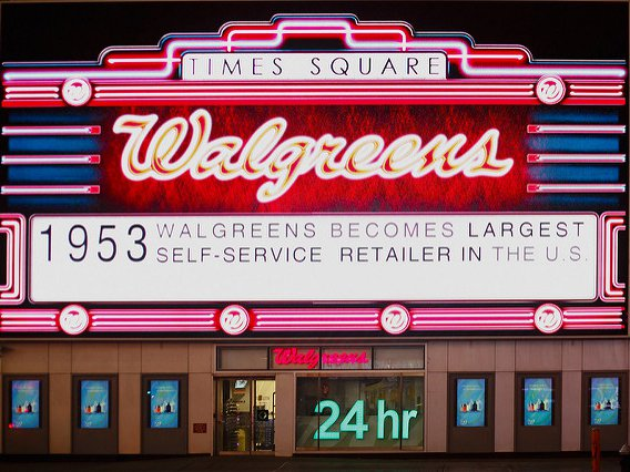 The city will be slightly less of a Walgreens town, but only slightly.