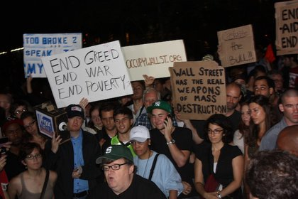 Michael Moore exposes Occupy Wall Street protestors for fifteen minutes on MSNBC