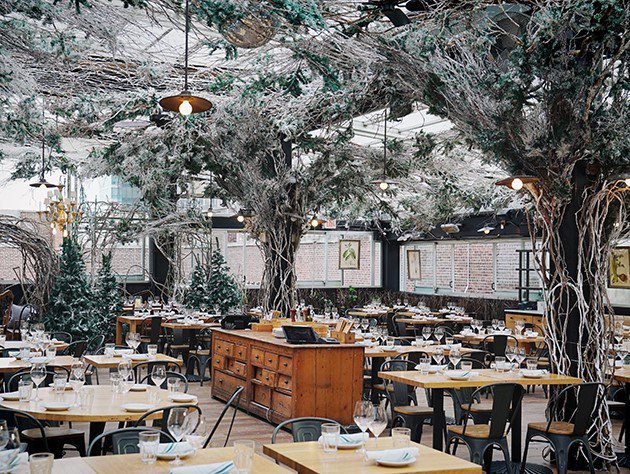 Christmas Themed Restaurants Nyc 2020 Eataly NYC Flatiron Opens Serra Alpina, a Winter Themed Rooftop