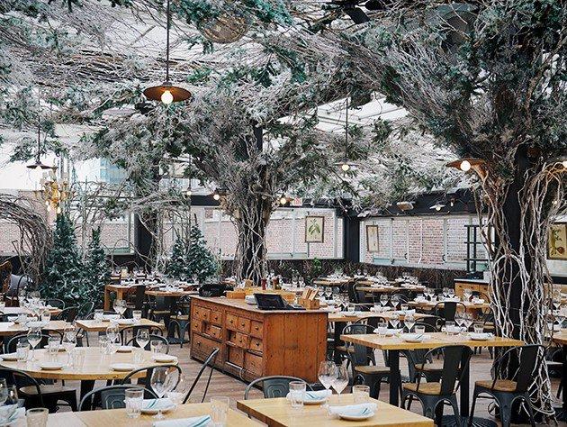 Christmas Themed Restaurants Nyc 2020 Eataly NYC Flatiron Opens Serra Alpina, a Winter Themed Rooftop