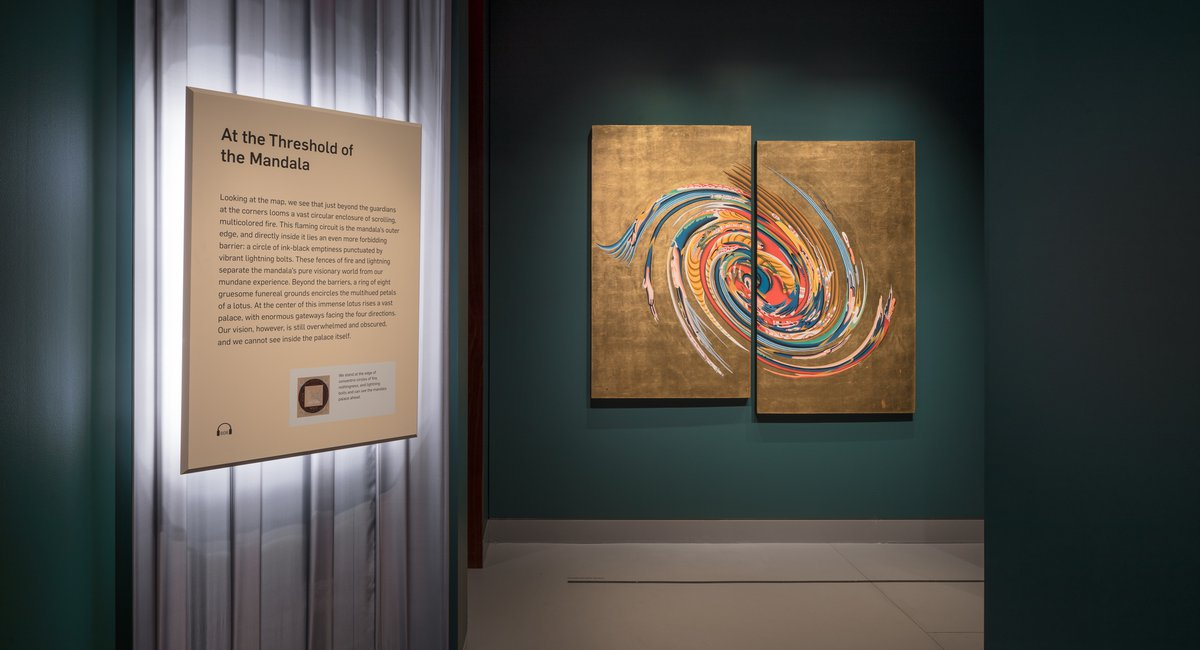 """""""Step Away From The Chaos"""" And Into The Rubin's New Tibetan Buddhism Exhibit"""