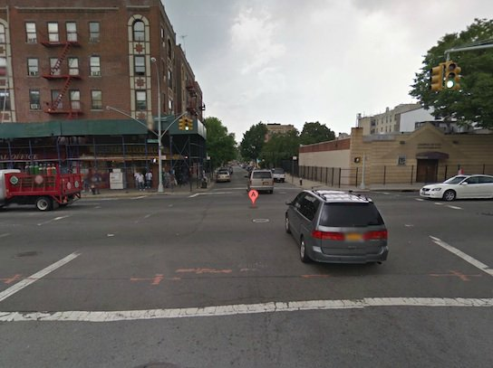 East 181st Street and Southern Boulevard, where Torres was killed