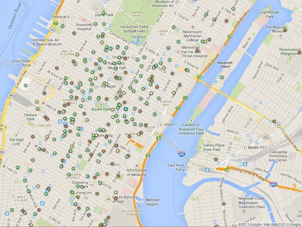 Interactive Map: Here Are All The Starbucks, McDonald\'s And ...