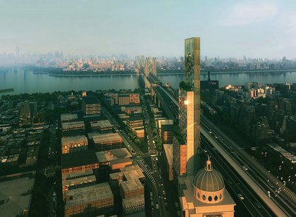 A rendering of Williamsburghotel. When Brooklyn looks like Manhattan, then Brooklyn will have won.