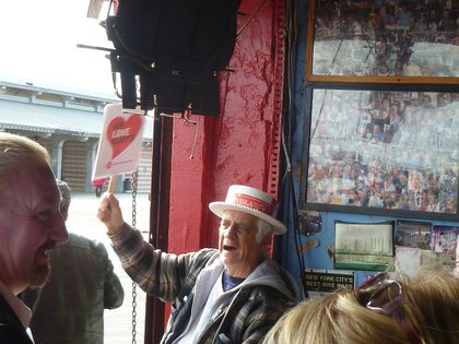 Jim Shannon has been coming to Ruby's for over 50 years.