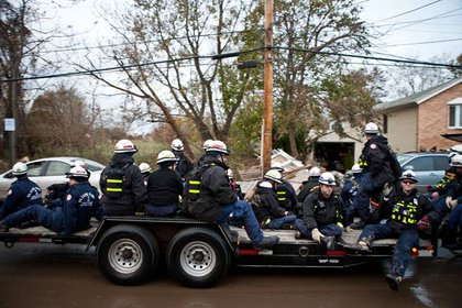 Members of the Homeland Security's Urban Rescue Task Force