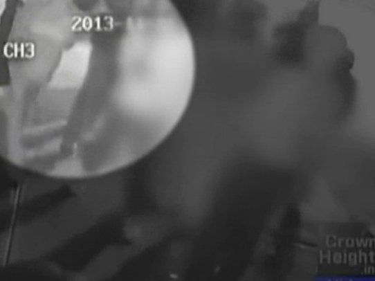 Friday's attack was caught on surveillance video.
