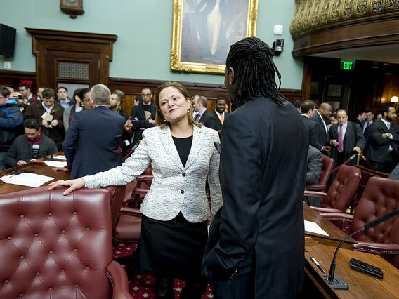 Former City Council Speaker Melissa Mark Viverito and Councilman Jumaane Williams in 2014. Both are in the running to succeed Letitia James as the next Public Advocate