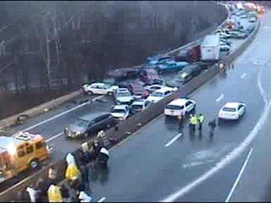Slip Sliding Away: Dangerous Black Ice Causes Road Accidents