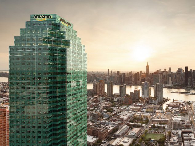 A rendering of Amazon in Long Island City prepared by the City's Economic Development Corporation