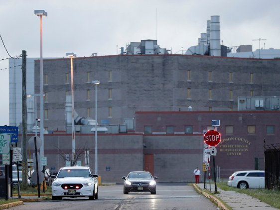 The Hudson County Correctional Facility, in Kearny, N.J. is used by ICE as an immigrant detention center.