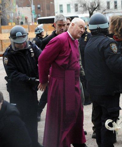 Bishop George Packard is detained