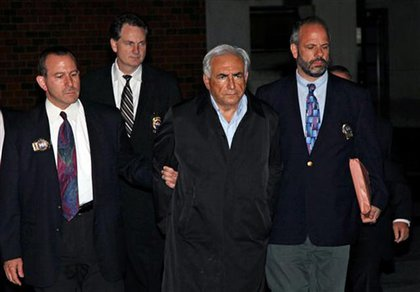 Before May 2011, Dominique Strauss-Kahn was the ascendent head of the International Monetary Fund and a promising challenger to French President Nicolas Sarkozy. Then he was arrested for allegedly raping a maid at a Times Square hotel—and got the NYC perp treatment with a perp-walk. DSK was put under house arrest and eventually moved to a swank townhouse ($50K/month townhouse arrest) where he stayed until his accuser was deemed untrustworthy. He was eventually freed after all charges were dropped. The accuser, Guinean immigrant Nafissatou Diallo, went public and is vowing justice.