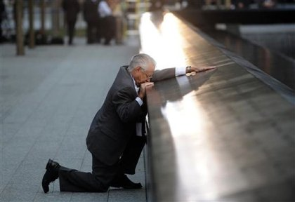 """And lastly, this year marked the ten year anniversary of the September 11, 2001 attacks, when planes struck the World Trade Center, Pentagon and a field in Shanksville. During the anniversary ceremony, the names of the 2,983 victims at the WTC attacks were read, and various officials read passages from the Bible, poems and offering prayer. Paul Simon performed a truly moving rendition of """"The Sound Of Silence."""" During a year filled with change and global strife, it was a fitting moment of stillness to reflect on the past ten years, and the way the city has changed."""