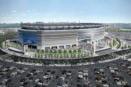 The Jets and Giants got a new home this year, at New Meadowlands stadium in NJ, which has been so-so according to fans. But even more exciting: NYC will get the Super Bowl in 2014! So hopefully the Jets and Giants can actually make Bloomberg's all-NY Super Bowl prediction come true.
