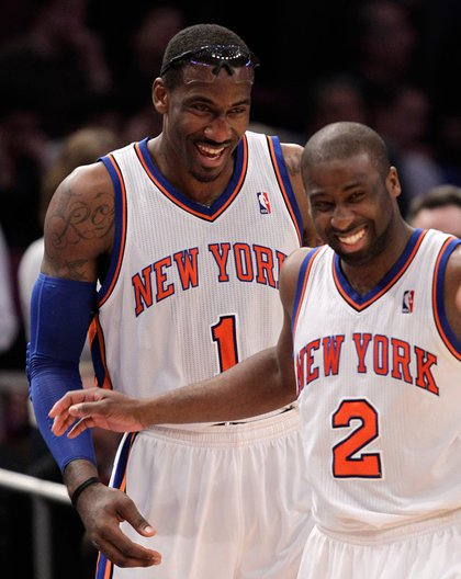 Despite losing LeBron James to the Heat, the Knicks were revitalized this offseason by the signing of star Amare Stoudemire, along with an overhaul of their roster which brought in the likes of Raymond Felton. For the first time in nearly a decade, the Knicks are relevant again, with a winning record and a very good shot at the playoffs.