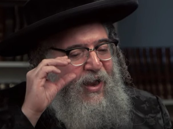 Rabbi Shlomo Erez Helbrans, who died last year, during an interview with CBC News in 2014.
