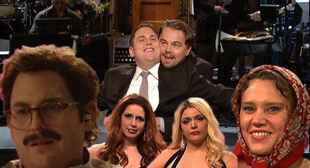 Videos Jonah Hill Joined By Leonardo Dicaprio Michael Cera On Em Saturday Night Live Em Gothamist